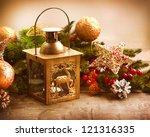 Christmas Scene. Holiday...