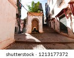 Casbah Of Algiers. Narrow streets of old city.