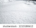 snow winter  texture | Shutterstock . vector #1213180612