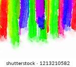 the brush stroke graphic... | Shutterstock . vector #1213210582