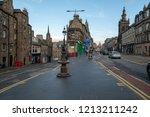 edinburgh  scotland   september ...   Shutterstock . vector #1213211242