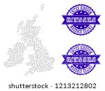 dotted black map of great...   Shutterstock .eps vector #1213212802