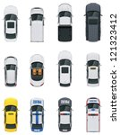 vector cars icon set. from... | Shutterstock .eps vector #121323412