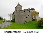 castle in vaduz  lichtenstein ... | Shutterstock . vector #121326412