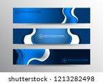 usa color flag concept... | Shutterstock .eps vector #1213282498