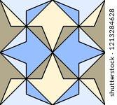 geometric ornament  seamless...   Shutterstock .eps vector #1213284628