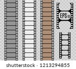 film strip  vector illustration.... | Shutterstock .eps vector #1213294855