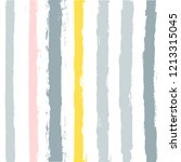 paint stripe seamless pattern.... | Shutterstock .eps vector #1213315045