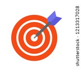 the image of the target is...   Shutterstock .eps vector #1213317028