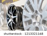 car max wheel. magnesium alloy... | Shutterstock . vector #1213321168