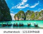 Maya Bay In Ko Phi Phi Le...