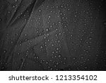 water drops on the fabric | Shutterstock . vector #1213354102
