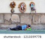prague  czech republic   june ...   Shutterstock . vector #1213359778