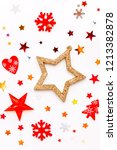 christmas and new year holiday...   Shutterstock . vector #1213382878