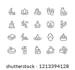 simple set of spa related... | Shutterstock .eps vector #1213394128