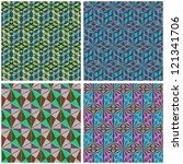 seamless abstract pattern....   Shutterstock .eps vector #121341706