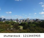 the view of fukuoka | Shutterstock . vector #1213445905