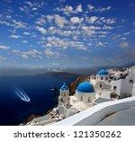 Amazing Santorini With Churche...