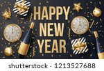 happy new year background... | Shutterstock .eps vector #1213527688