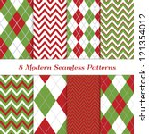 classic christmas backgrounds.... | Shutterstock .eps vector #121354012