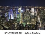 the new york city uptown... | Shutterstock . vector #121356232