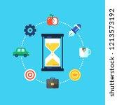 time management  planning ...   Shutterstock .eps vector #1213573192