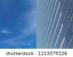 modern glass buildings office ... | Shutterstock . vector #1213579228