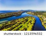 flat land near nambucca heads... | Shutterstock . vector #1213596532
