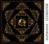 vector set of squares ... | Shutterstock .eps vector #1213603438