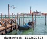 traditional venice view with... | Shutterstock . vector #1213627525