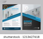 business brochure flyer poster... | Shutterstock .eps vector #1213627618