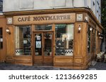 paris  france  october 6  2016  ... | Shutterstock . vector #1213669285