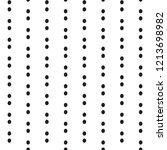black and white seamless vector ...   Shutterstock .eps vector #1213698982