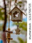 beautiful garden decoration... | Shutterstock . vector #1213700725