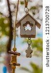beautiful garden decoration... | Shutterstock . vector #1213700728