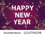 greeting background with... | Shutterstock .eps vector #1213704298