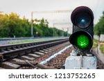 Green Traffic Lights On The...