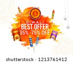 creative sale banner or sale... | Shutterstock .eps vector #1213761412