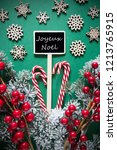 retro black christmas sign... | Shutterstock . vector #1213765915