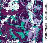 grunge seamless texture pattern ... | Shutterstock .eps vector #1213812388
