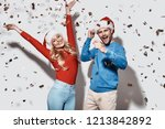 christmas party. beautiful... | Shutterstock . vector #1213842892