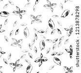 dark gray vector seamless... | Shutterstock .eps vector #1213878298