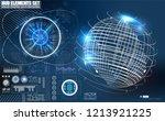 quantum computing  big data...   Shutterstock .eps vector #1213921225
