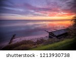 horizontal wide angle view of... | Shutterstock . vector #1213930738