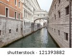 Venice. Bridge of sighs