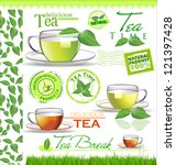 Tea Elements For Your Design