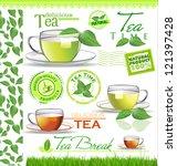 Tea Elements For Your Design