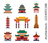Colorful Chinese Buildings ...