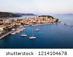 aerial view sea marina of...   Shutterstock . vector #1214104678