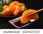 Sashimi  Salmon  Japanese Food...
